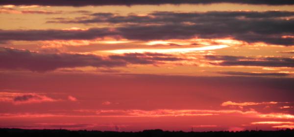 Sunset over Carlisle