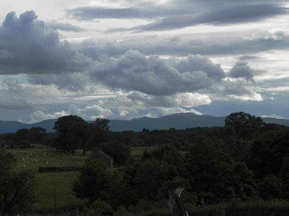 Cumbrian Mountain Skyline