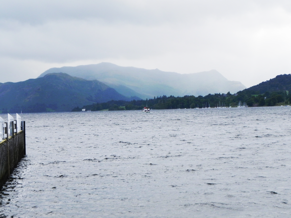 Ferry Approaching Pooley Bridge