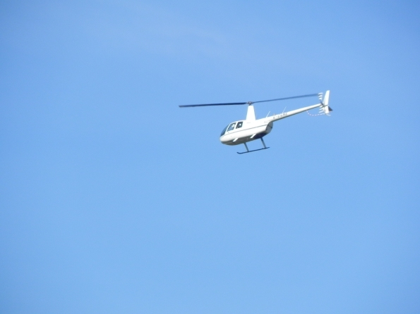 Robinson R44 MkII helicopter