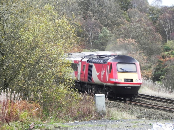 Virgin Trains Intercity at the Level Crossing