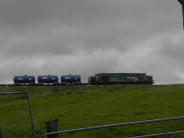 Nuclear Waste Train