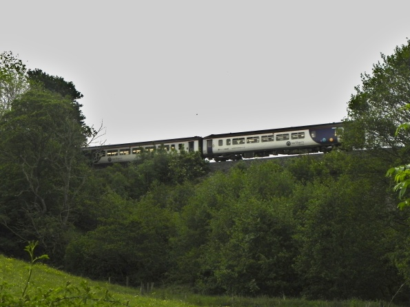 Train going past